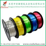 Like Silk 3D Filament Polymer Composite 3D Printer Filament 1.75 / 3.0 mm, High Gloss
