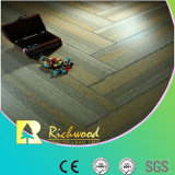 Commercial 12.3mm AC4 Crystal Hickory Sound Absorbing Laminate Flooring
