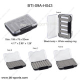 Wholesale Double Faces Clear Lids Different Foams 100% Waterproof Mini Size Fly Fishing Fly Box 09A-H043