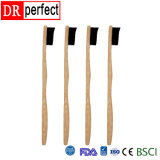 Wholesale Private Label Eco Friendly Bristle Custom Bamboo Charcoal Toothbrush