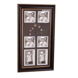 New 6 Opening Plastic Photo Frame