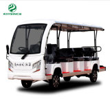 Road Battery Powered Classic Shuttle Enclosed Electric Sightseeing Car