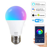 Smart Light Bulb, RGBW Wi-Fi LED Bulb Dimmable Multicolored Lights, RGB Light Compatible with Alexa and Google Home