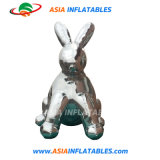 Inflatable Rabbit Model Mirror Balloon Animal Replica Reflective Ball