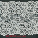 Fashion Stretch Galloon Fabric Lace for Shiny Underwear Lingerie Elastic Dubai Dress Nylon Lace Fabric