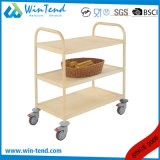 Hotel Supplier Stainless Steel Water Transfer Serving Trolley for Kitchen