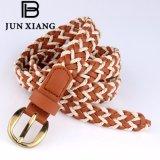Wholesale Women Dress Waist PU + Cord Cheap Skinny Braided Belt
