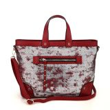 Fashion Hollow-out Mixed Color Ladies Tote Bags (MBNO040094)