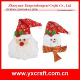Christmas Decoration (ZY14Y110-1-2 22CM) Christmas Winter Gift Craft
