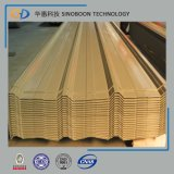 Colorful Corrugated Steel Roofing Sheet with 12 Waves