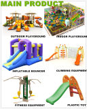 New Design Kids Outdoor Body Building Equipment with Slide (PY1201-9)