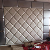 3D Acoustic Wall Panel Decoration Wall Panel Decorative Sheet Soft Roolls PU Leather