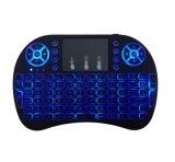 Wireless Keyboard I8 Mini Keyboard Backlight 7 Colors with Keypad Multiple Language