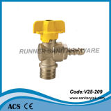 Brass Gas Ball Valve (V25-209)