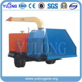 CE and ISO Approved Diesel Engine Christmas Woodchipper, No Tractor