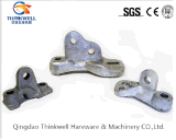 Forged Electric Power Fitting Pole Eye Plates