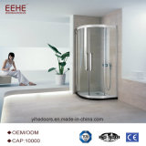 Toilet Glass Shower Room Door with High Quality Hinges in China
