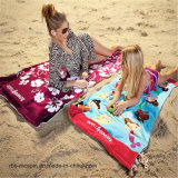 100% Cotton Competitive Price Velour Bath Towel Beach Towel