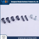 Customized Non-Standard Flat Head Black Galvanized Short Metal Rivet