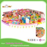 Pink Theme Children′s Playpark with Playhouse