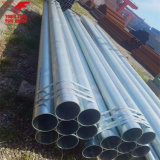 ASTM A53 Threaded with Sockets Hot Dipped Galvanized Welded Steel Tube
