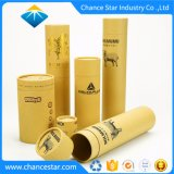 Custom Printed Eco Brown Kraft Paper Cardboard Tubes