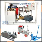 Cement grout hose pump