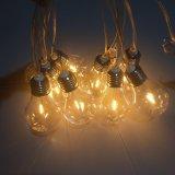 10 Warm White LED A60 Filament Bulb Festoon Party Lights