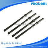 Prodrill Plug Hole Integral Steels for Hand-Held Rock Drill