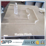 Cheap Polished Beige Marble for Plinth and Interior Wall Frame