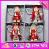 2017 New Products Baby Cartoon Dolls Wooden Cheap Toys for Christmas W02A233