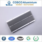 Aluminum Thermal Heat Sink with Clear Anodized & ISO9001 Certificated