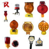 Road Safety Battery Power Amber LED Traffic Warning Light