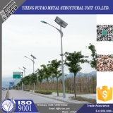 Q235 Q345 Hot DIP Galvanized Solar Steel Lamp Post