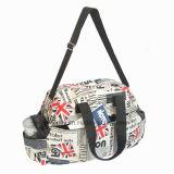 Sateen Foaming Shoulder Waterproof Duffel Travel Bag
