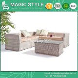 "Wicker Corner Sofa Set ""L"" Rattan Sofa Set (Magic Style)"