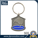 Die Casting Zinc Alloy Metal Keychain with Antique Plating
