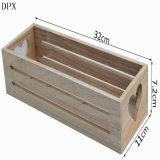 Fancy Wood Gift Box with Heart Shape Hole