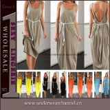 European and American Ladies Loose Sexy Long Maxi Dress (TKYA325)