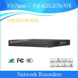 Dahua 8/16 Channel 1u 8poe 4K&H. 265 PRO Network Video Recorder (NVR5208-8P-4KS2E/NVR5216-8P-4KS2E)