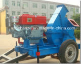 Small Capacity Mobile Wood Branches Crusher Shredder
