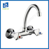 Double Handle Cold and Hot Water Ktichen Mixer