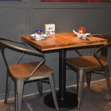 (SP-CS327) Vintage Industrial Metal Cafe Restaurant Chair and Restaurant Table