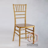 Polycarbonate Resin Gold Dining Banquet Tiffany Chair Wedding Furniture