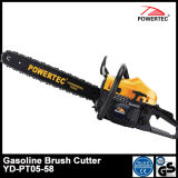 Powertec CE GS 58cc Easy Start Wood Gasoline Chain Saw Yd-PT05-58