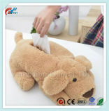 BSCI New Design Plush Soft Puppy Tissue Box Home Decoration Toys