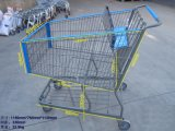 America Style Supermarkte Shopping Handle Trolley Handcart