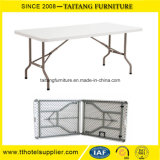 Easy Carry Plastic Foldable Table for Exhibition & Trade Show