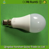 9W LED Bulb with B22 Base, Ce, RoHS, FCC Certificates