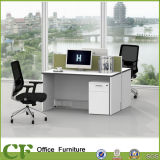 New Aluminum Profile 30mm Fabric Office Partition for 2 Person